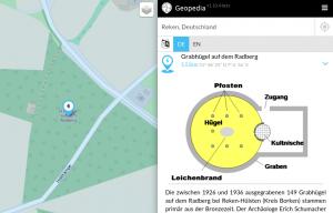 geopedia.de - Grabhügel